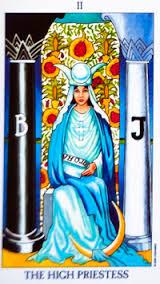 High Priestess # 2 tarot