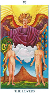 tarot interpretation of The Lovers # 6