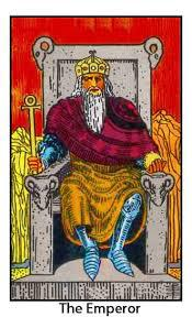 the emperor # 4 tarot