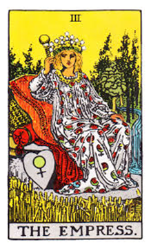 tarot reading for The Empress # 3