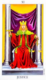 The Justice #11 tarot reading interpretation