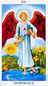 Temperance # 14 Tarot reading interpretation