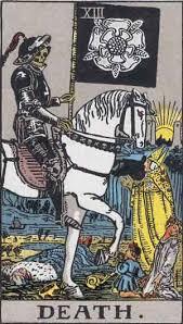 The Death #13 tarot reading interpretation