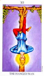 The Hanged Man #12 tarot reading interpretation
