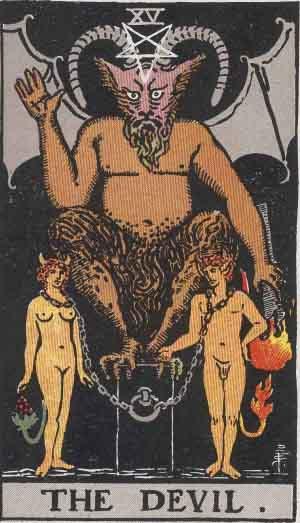The Devil # 15 Tarot