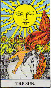 The Sun #19 Tarot