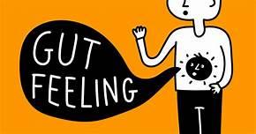 psychic gut feeling