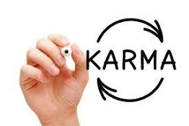 the accumulation of karmic debt